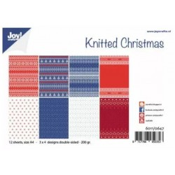 Kit papier A4 Knitted...