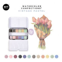 Aquarelles Vintage Pastel -...