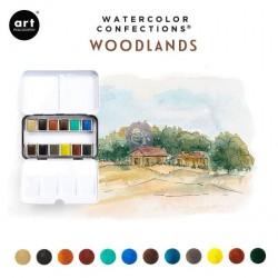 Aquarelles Woodlands -...