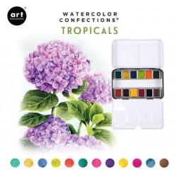 Aquarelles Tropicals -...
