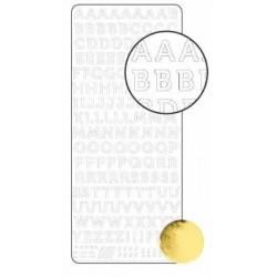 Stickers Alphabet - Or