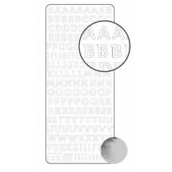 Stickers Alphabet - Argent