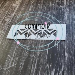 Dies TRIANGLES - Comptoir...