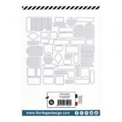 Etiquettes GRIS DOUX -...