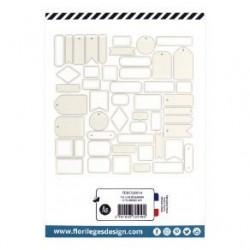 Etiquettes BEIGE LIN -...