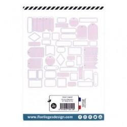 Etiquettes ROSE LOTUS -...