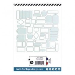Etiquettes VERT D'EAU -...
