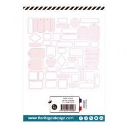 Etiquettes GRIS ORAGE -...