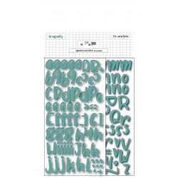 Alphabet adhésif en mousse...