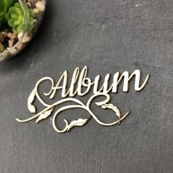 Mot Album avec plumes en...