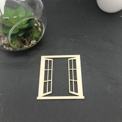 Fenêtre modèle 1 en carton...