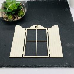 Fenêtre modèle 4 en carton...