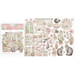 DIE CUTS ORCHIDS AND CATS -...