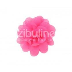 Fleur chiffon - Fuchsia