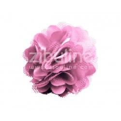 Fleur dentelle - VIEUX ROSE