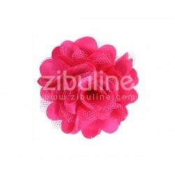 Fleur dentelle - FUCHSIA