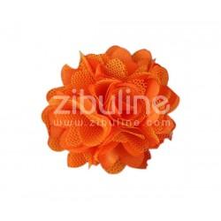 Fleur dentelle - ORANGE