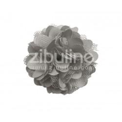 Fleur dentelle - GRIS