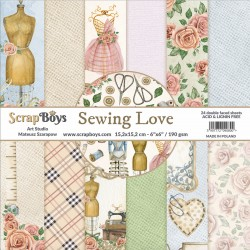 Sewing Love Bloc 24 papiers...