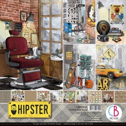 Hipster 12 papiers 30x30...