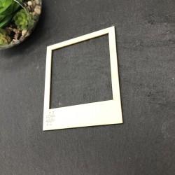 Polaroid hashtag en carton...