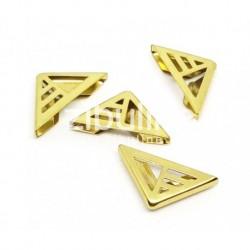 Coins métal - triangle...