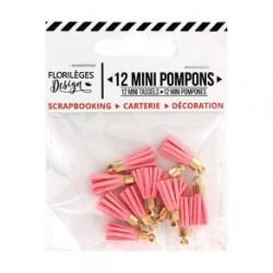 Mini Pompons ROSE THE -...