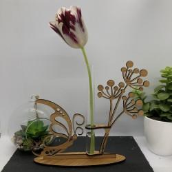 Support Vase Papillon en...