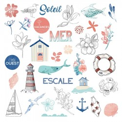 A contre courant -Die Cuts...