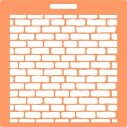 Pochoir brique