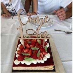 CAKE TOPPER ANNIVERSAIRE...