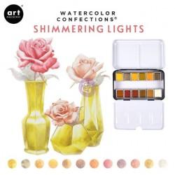 Aquarelles Shimmering...