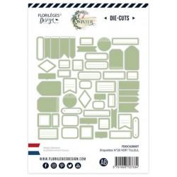 Etiquettes Vert Tilleul -...