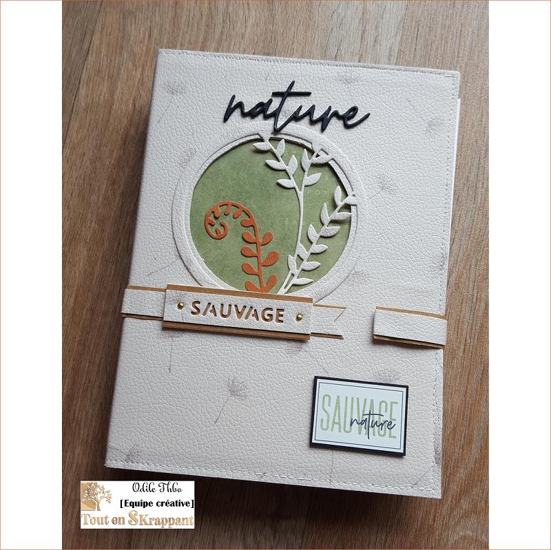 Mini album Esprit Nature par Odile Thbo Tout en sKrappant